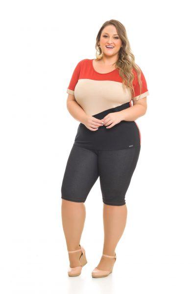 Blusa Viscolycra 1003 Bermuda Cotton Jeans 1022