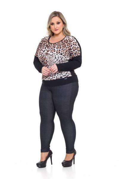 1087 Blusa Viscolycra 1043 Legging Cotton Jeans