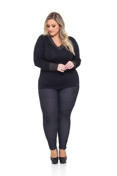 946 Blusa Viscolycra 1043 Legging Cotton Jeans