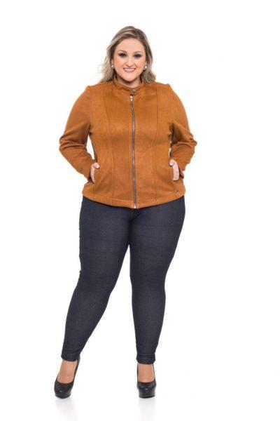 1066 Jaqueta Suede 1043 Legging Cotton Jeans