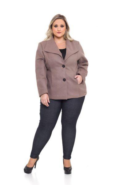 1072 Casaco Lã Batida 1043 Legging Cotton Jeans