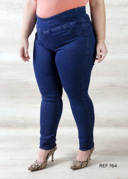 Ref 764 Calça Jeans com elástico